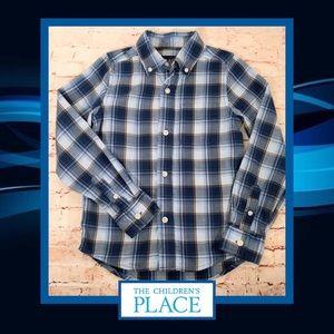 🐴 Children's Place Plaid Button Up